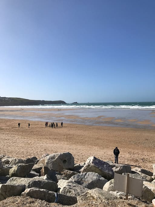 Iconic Fistral Beach