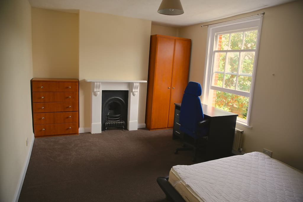 All rooms very large with great beds, wardrobe, drawers and desk.