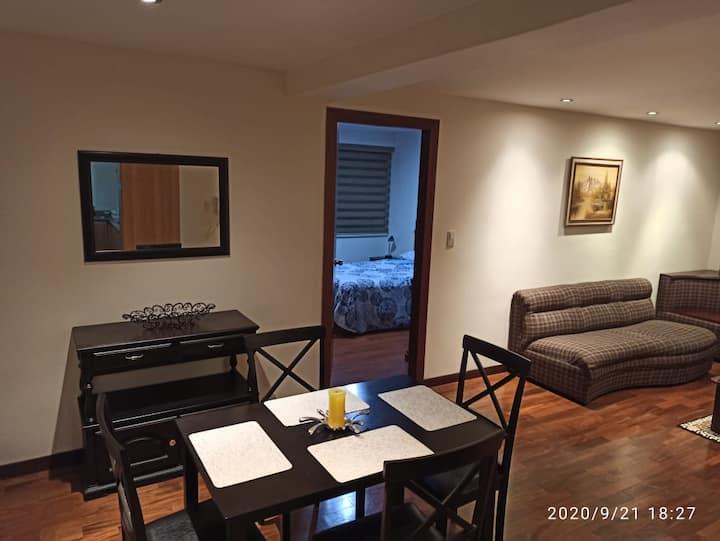 Rento Suite amoblada, en el mejor sector de Quito