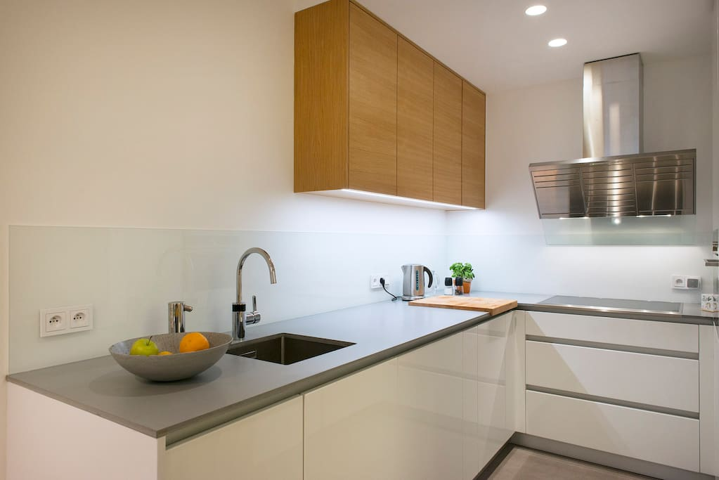 The Kitchen, fully equipped and ready! Just show your mastery!
