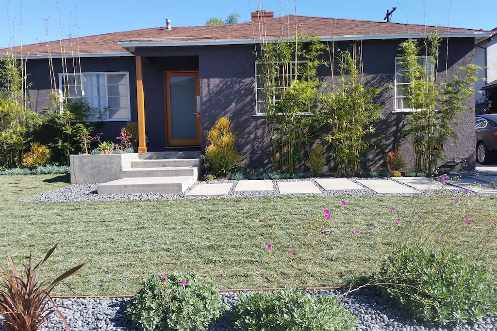 Newly remodeled/landscaped exterior