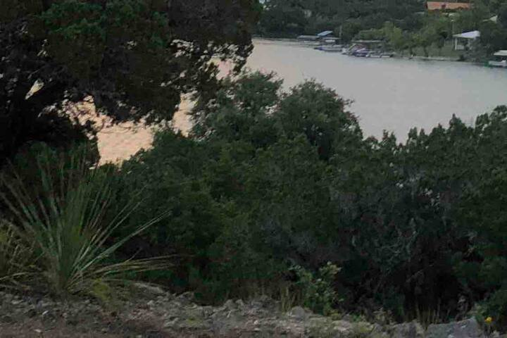 Medina Lake, Texas,  Campsite & Swimming: Tent/RV