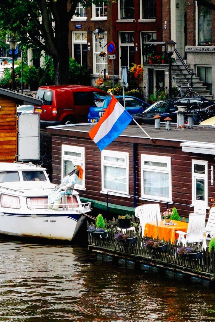 Dutch houseboats