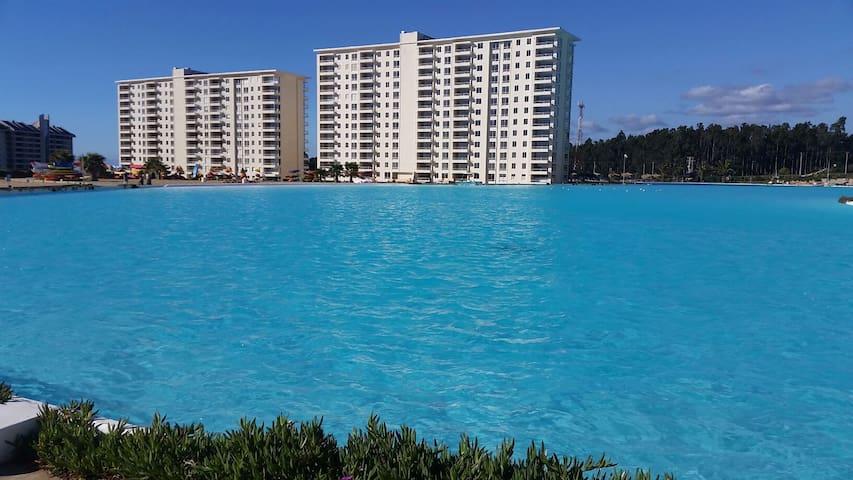 Exclusivo apartamento en Algarrobo, Laguna Bahia