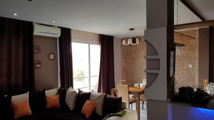 Appartement haut standing  cap falcon avec piscine