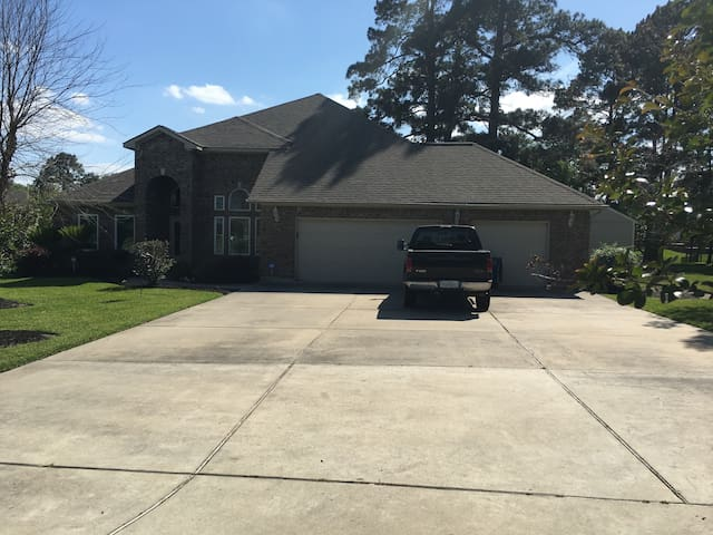 Lake Conroe Waterfront Property on an Entire Acre! - Willis - Hus