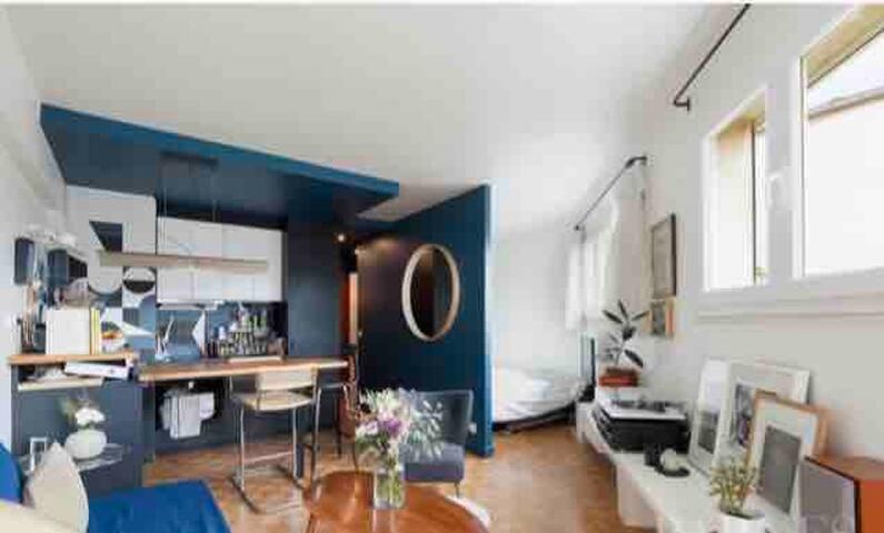 ★ Appartement avec Terrasse Louvre★