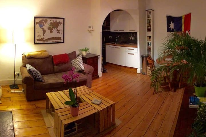 One bedroom apartment with wooden floor - London - Flat