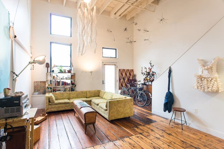 Entire loft in Boston