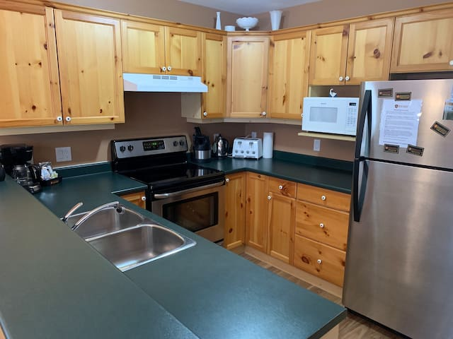 Fully Stocked Kitchen with All Appliances