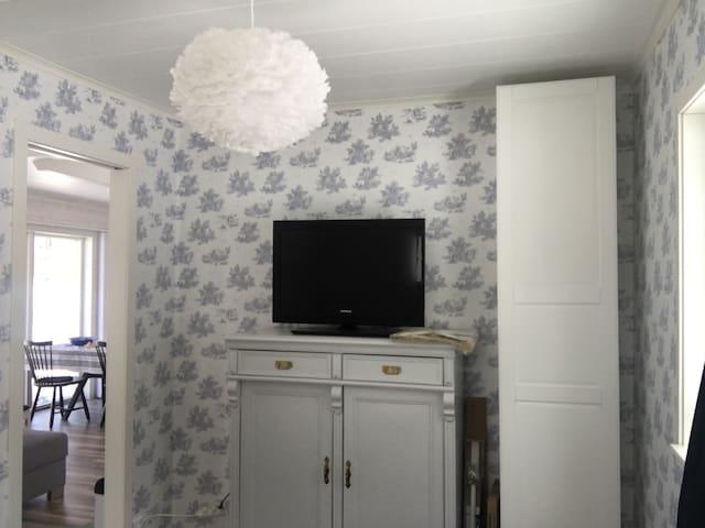Bedroom in main cottage
