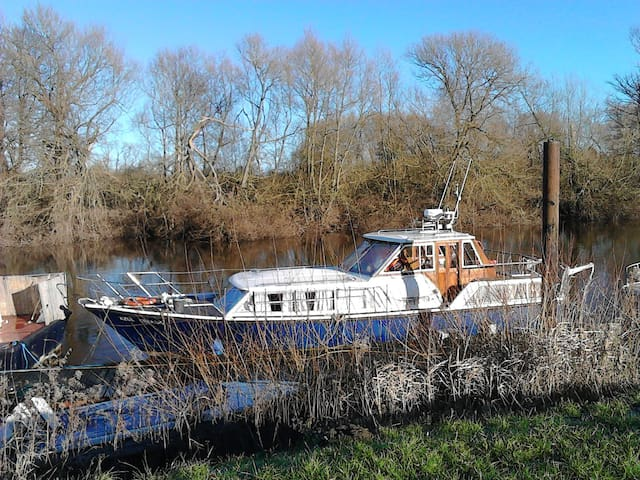Fully equipped 36ft cruiser boat - Bishopthorpe