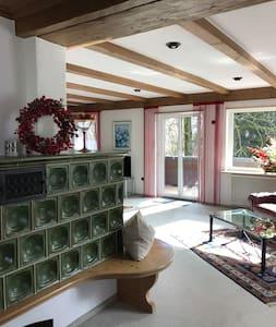 Großzügige, gemütliche Ferienwohnung,großer Balkon - Kempten - Lejlighed
