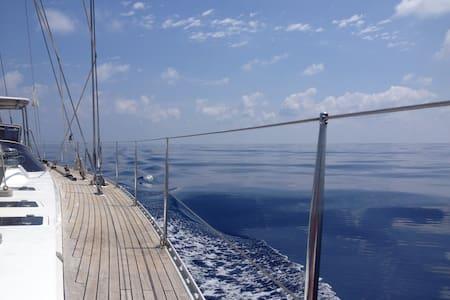 Velero de 24mts zona Costa del Sol para 6 personas - San Roque - Boot