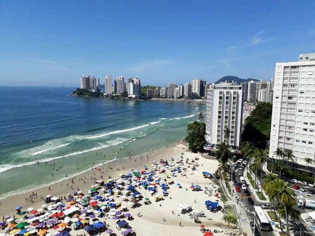 Apartamento com vista incrível para o mar
