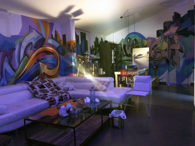 Rayhash Art Loft - Private room