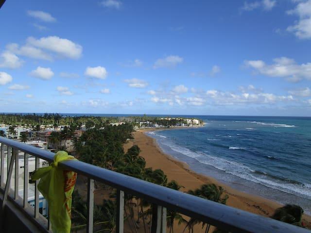 Luquillo - Playa Azul Beach Front 1 bedroom