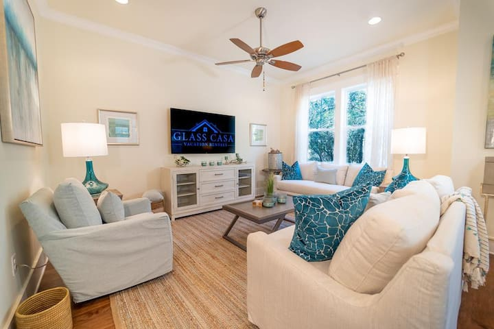 The Prominence on 30A with golf cart included!