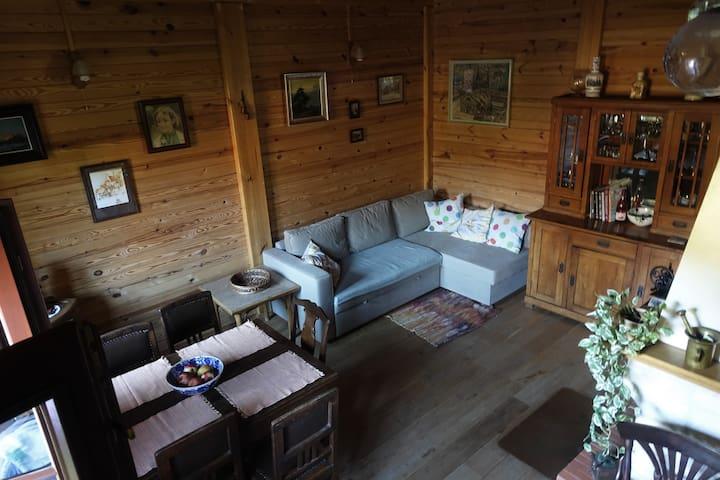 Dom w Męćmierzu nad Wisłą (a house in Męćmierz)