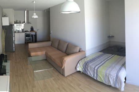 Grand studio de 35M² avec terrasse, La Genette. - Apartment