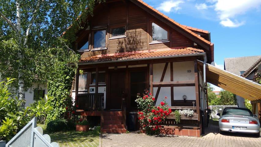 Gemütliches Holzhaus mit Style - Wyhl am Kaiserstuhl