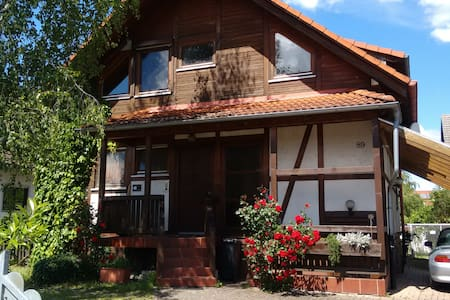 Gemütliches Holzhaus mit Style - Wyhl am Kaiserstuhl - Apartemen