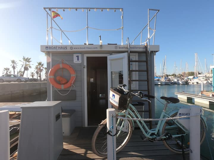 Rent a Floating Boat - 5 minutes to Gibraltar
