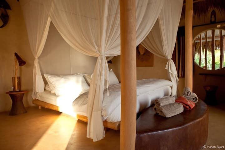 LUKENGO chambre au BAKUBA Lodge