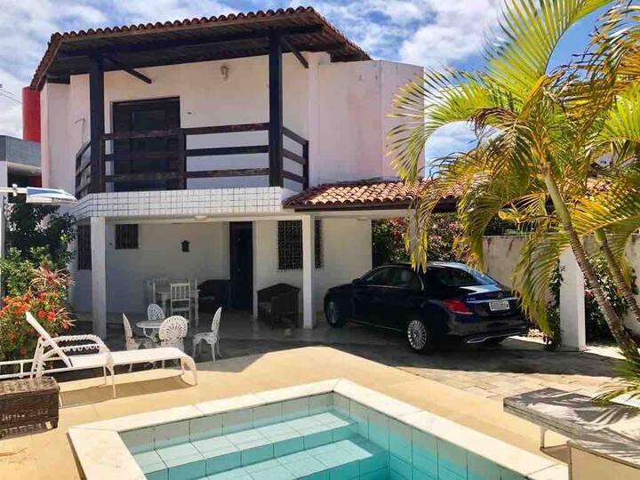 Casa na Praia Ponta de Campina - Paraíba