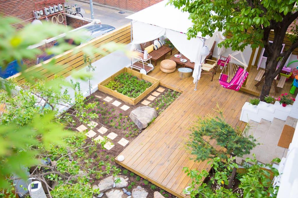 1층 정원
