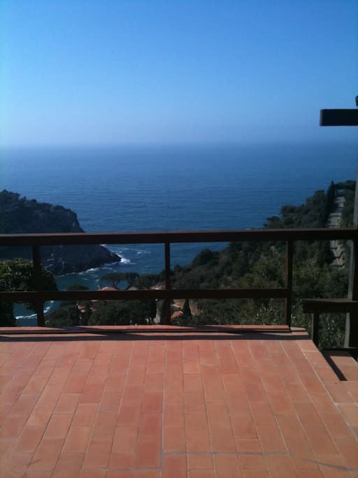 Upper terraces and the Med Sea