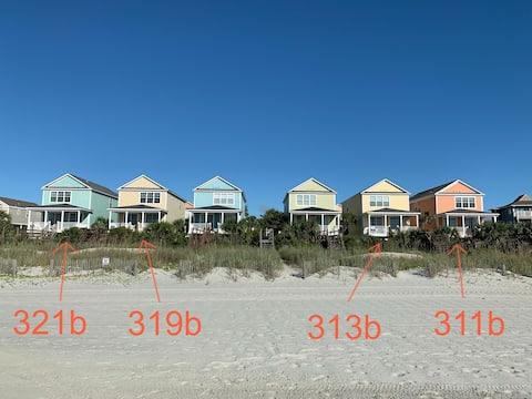 313b - Verdadero frente a la playa con pasarela privada y piscina