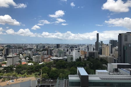 Top Sky View in Brisbane CBD