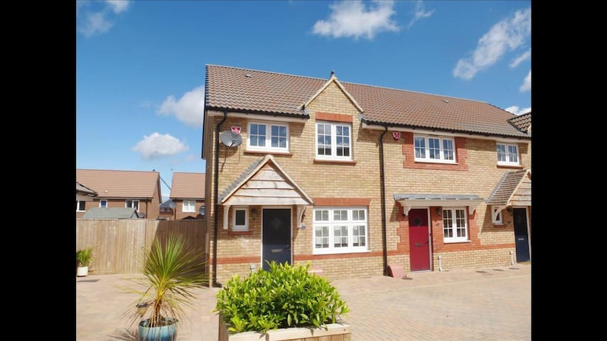 A lovely new redrow 3bd end terrace - Bristol - Casa