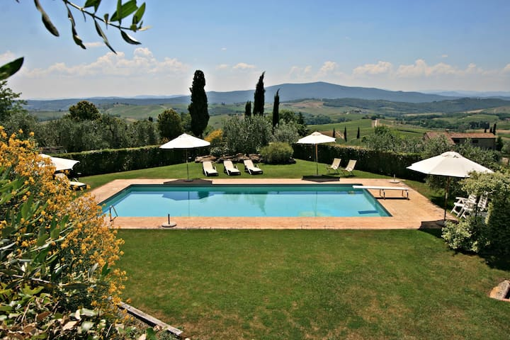 Charming apartment in the heart of the Chianti