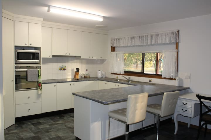 Full size kitchen for your exclusive use