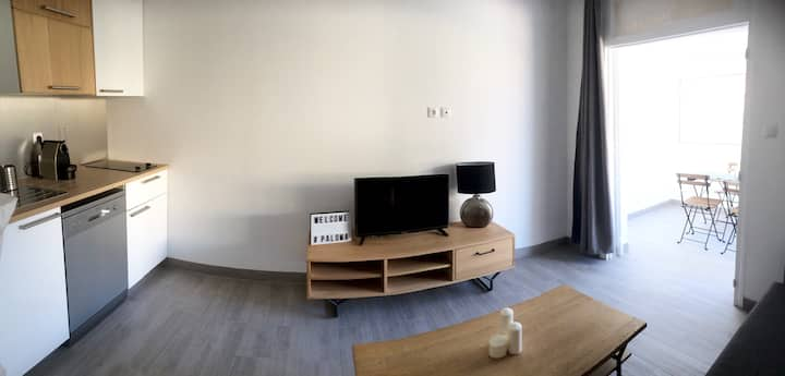 Appartement,Jacuzzi, Wifi, PLAGE a 1min #4