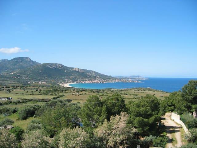 Appartamento vista mare Corbara, Corsica
