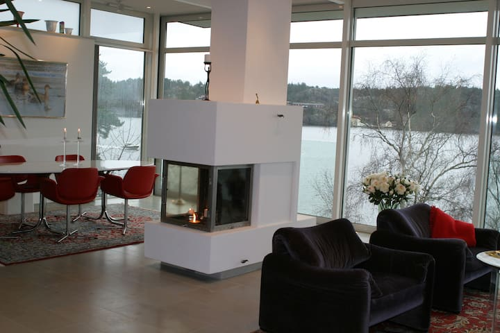 Seaside Villa with boathouse - Lidingö - Villa