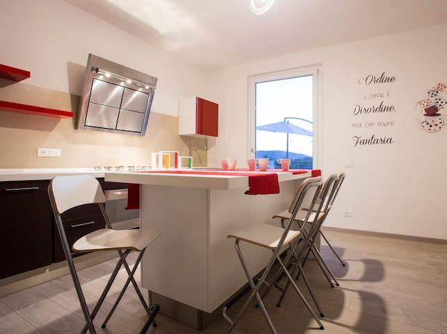 Casa tra gli ulivi - Ortonovo - Apartamento