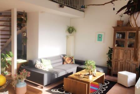 Bright, cozy room in attic in Vienna - Wenen - Appartement