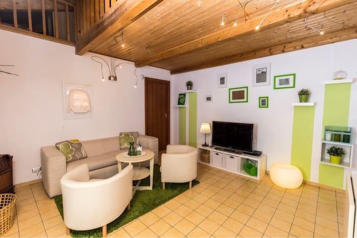 Casa Serena Green, un caldo chalet in pieno centro