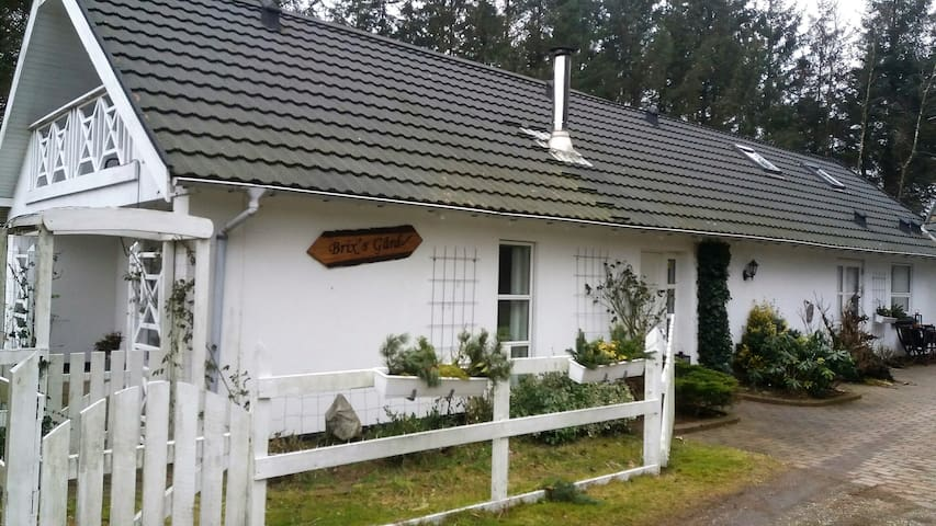 Præsteværelset i Brix's Gård