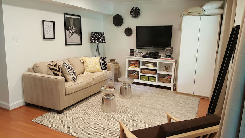 DC Suburb Sofabed Suite - Newly Designed! - Upper Marlboro - Dům
