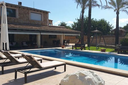 Amazing villa for 10 pax in the heart of Mallorca - Inca - Villa