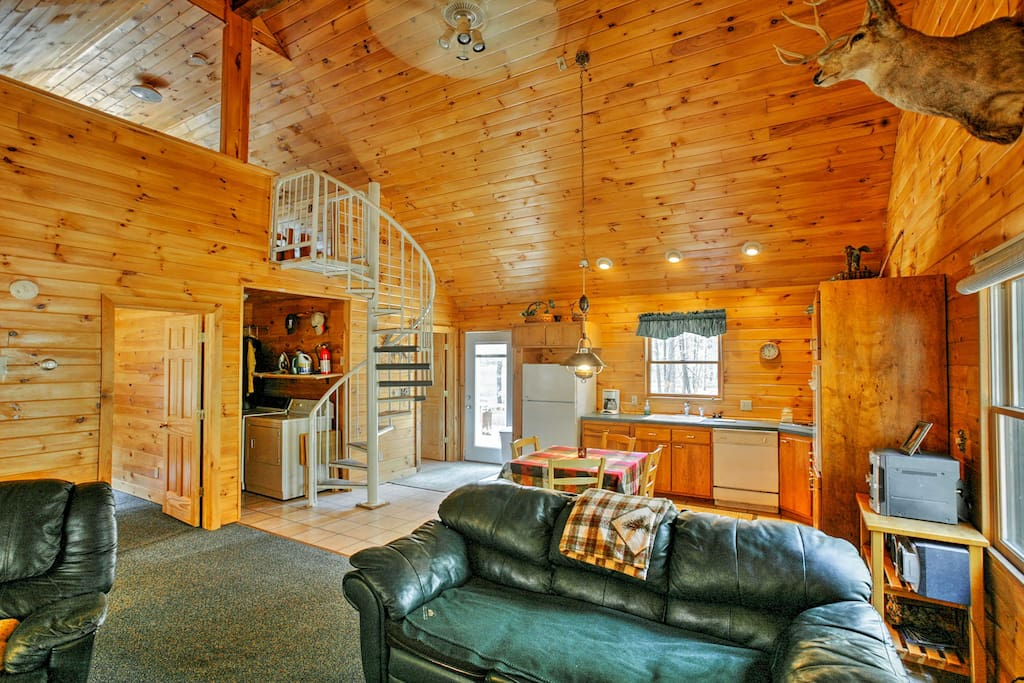 Step inside and prepare for a memorable, cabin getaway.