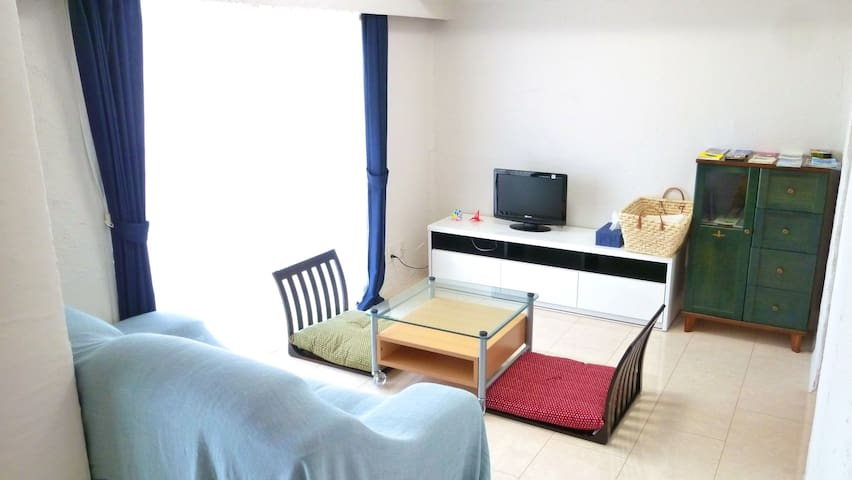 Clean and Spacious Room in Kasugai - 春日井市 - Apartemen