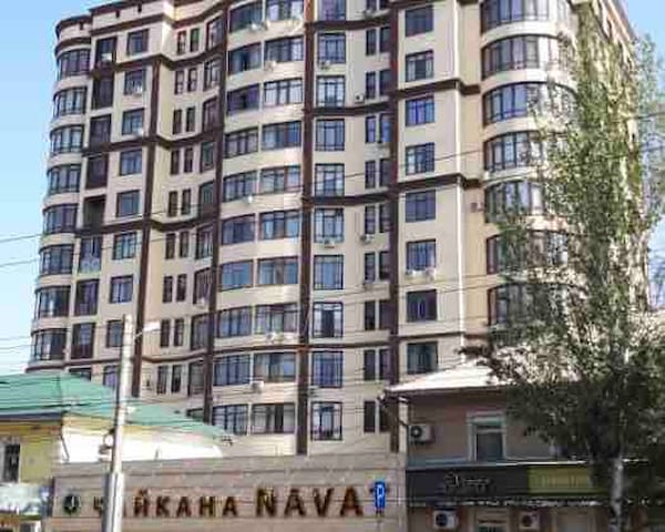 New 2 room apartment in the center of Bishkek