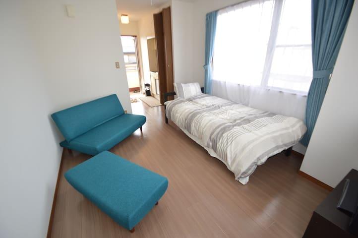 大宮駅1直線・徒歩8分、最上階角部屋の素敵なお部屋~ Omiya! - Saitama-shi - Apartment