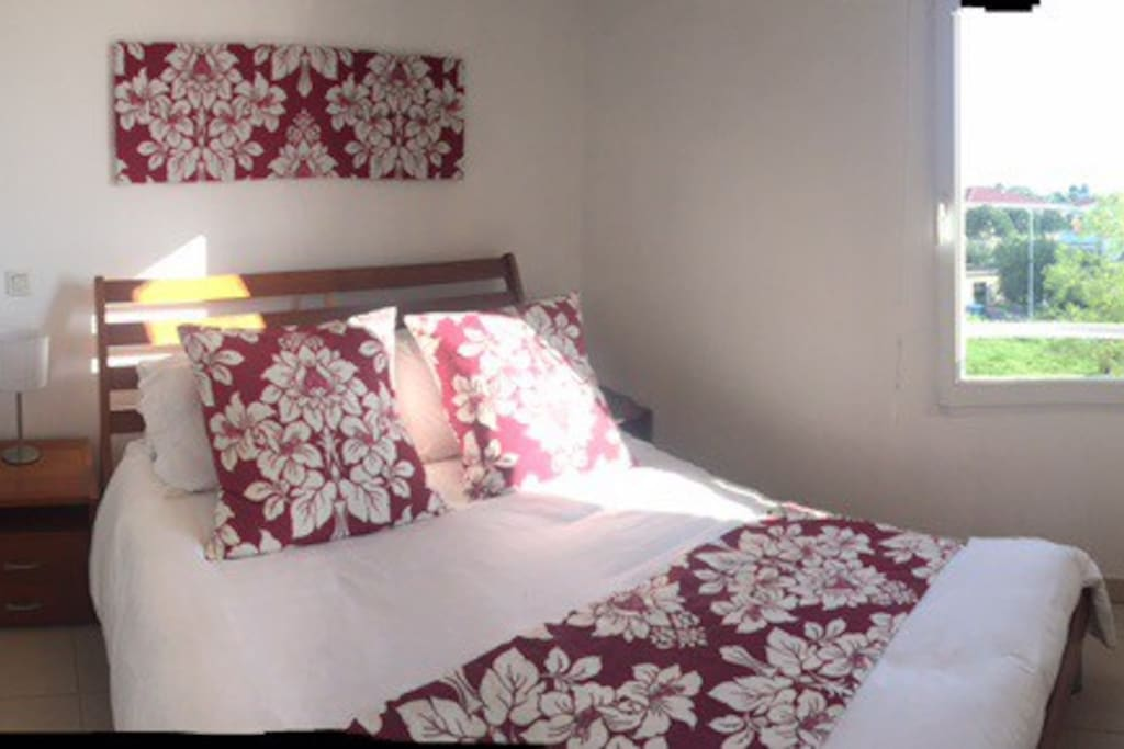 Double Bedroom with Excellent quality memory foam mattress